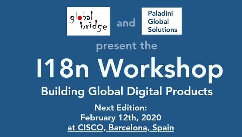I18n Workshop Barcelona