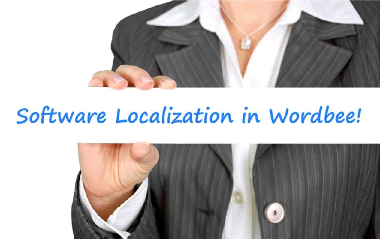 Software Localization and Translation of .RESX Files in Wordbee